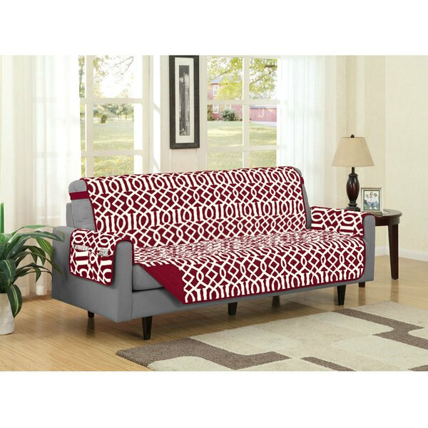 Box Cushion Sofa Slipcover By Winston Porter Wonderful