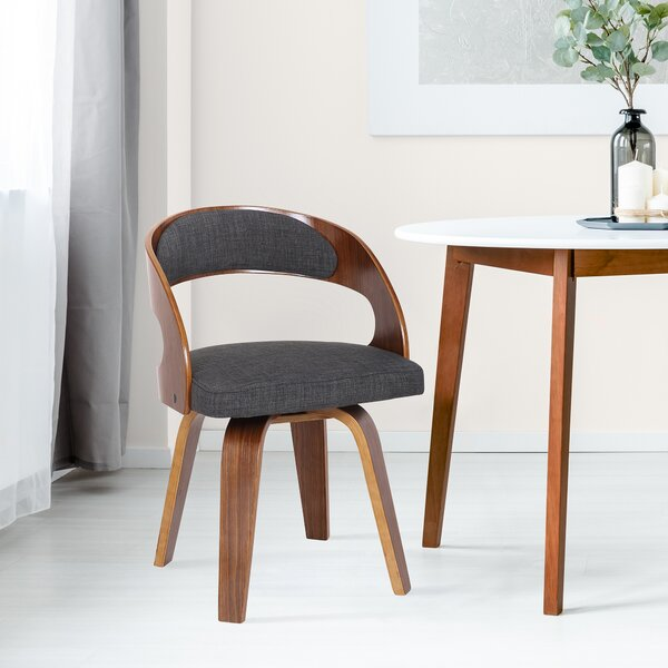 Mahoney Upholstered Dining Chair by Wrought Studio