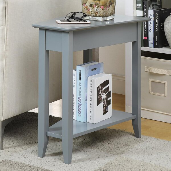 Randel Wedge End Table by Andover Mills