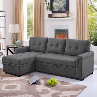 Whitby Reversible Sleeper Sectional by Ebern Designs SKU:AD174995 Details