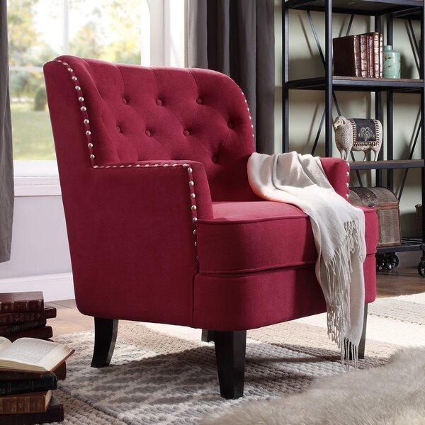 Winston Porter Lenaghan Wingback Chair Amp Reviews Wayfair Ca