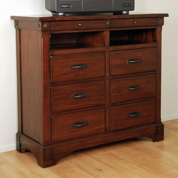 Voyles 6 Drawer Media Chest by Darby Home Co