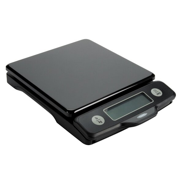 Good Grips Black 5 Lb Food Scale With Pull Out Display by OXO