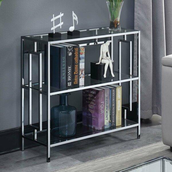 Sapienza Square 3 Tier Standard Bookcase by House of Hampton
