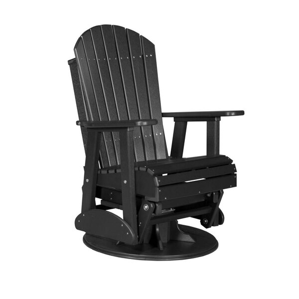Olgrah Adirondack Swivel Glider Chair by Ebern Designs