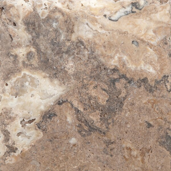 Travertine 8 x 8 Chiseled Field Tile in Onyx by Emser Tile