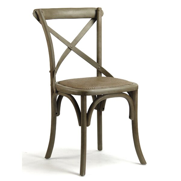 Parisienne Cafe Solid Wood Dining Chair by Zentique