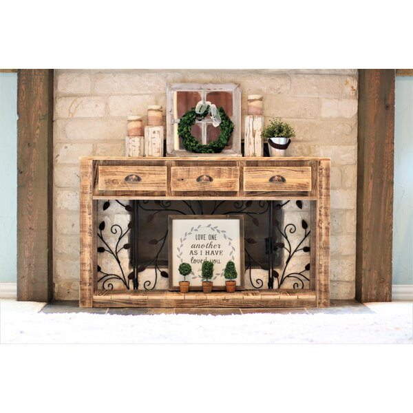 Conklin 3-Drawer Console Table by Millwood Pines