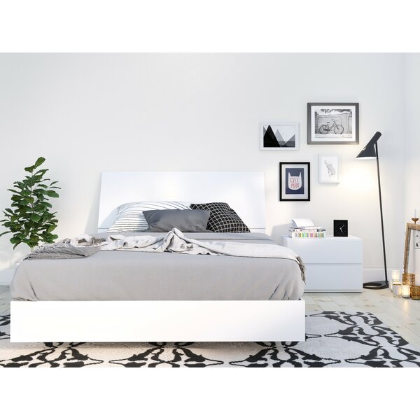 Ashe Platform 2 Piece Bedroom Set By Orren Ellis by Orren Ellis Great price
