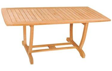 U Rectangular Table by HiTeak Furniture