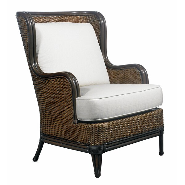 Outdoor Palm Beach Lounge Chair with Cushion by Padmas Plantation