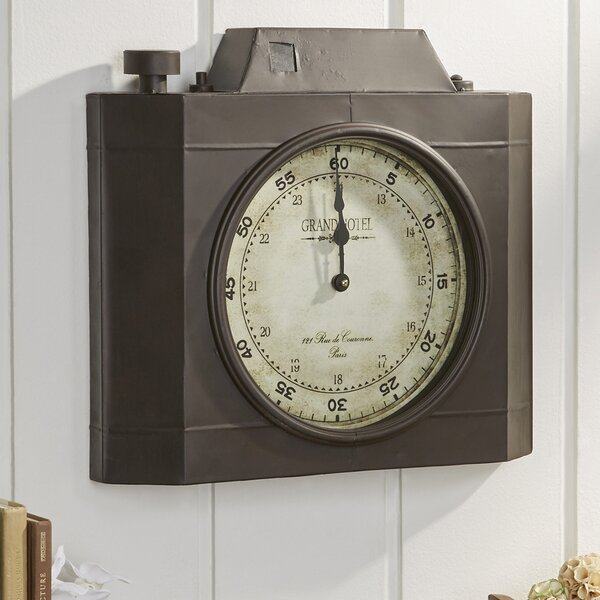 Camera Obscura Wall Clock by Birch Lane™