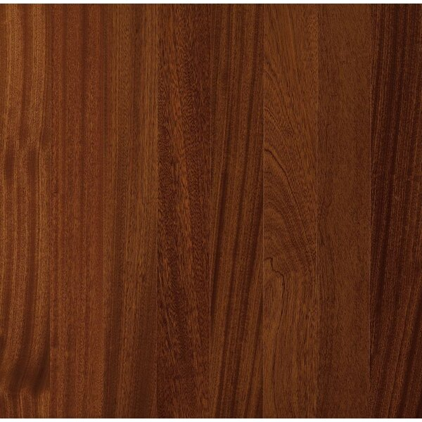 4-18/25 Engineered Exotic Hardwood Flooring in African Mahogany Natural by Armstrong Flooring
