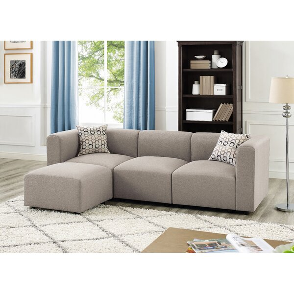 Fresh Karol Reversible Modular Sectional by Ivy Bronx by Ivy Bronx