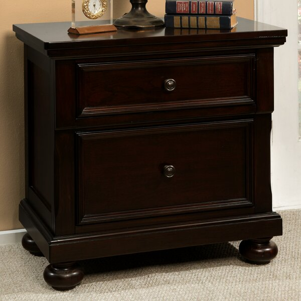 Stewardson 2 Drawer Nightstand by Darby Home Co
