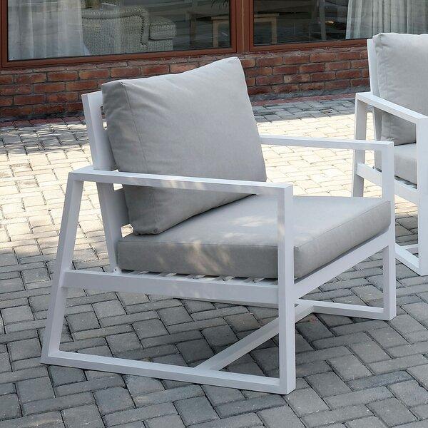 Laux Patio Chair with Cushions by Orren Ellis