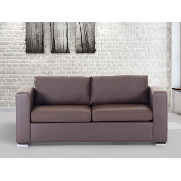 Jordon Genuine Leather Sofa by Orren Ellis