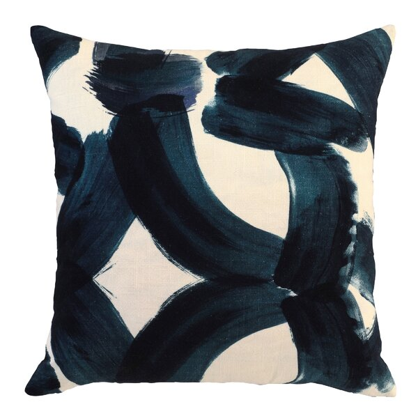 Fly Cotton Throw Pillow by Wrought Studio