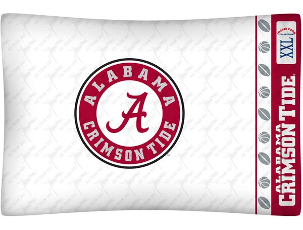 NCAA Pillow case by Sports Coverage Inc.
