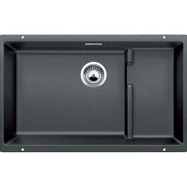 Precis 28 L x 18 W Double Basin  Kitchen Sink by Blanco