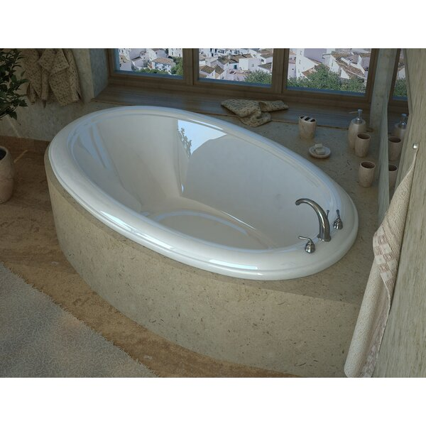 Martinique 70 x 42 Drop In Soaking Bathtub by Spa Escapes