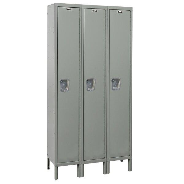 Maintenance Free 1 Tier 3 Wide School Locker by Hallowell