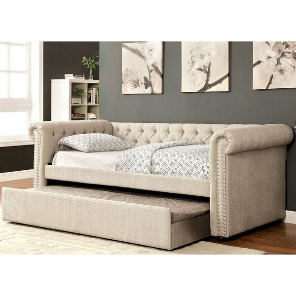 Leona Daybed with Trundle by A&J Homes Studio