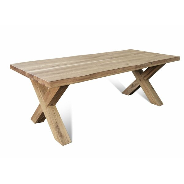 Ring Solid Wood Dining Table by Gracie Oaks