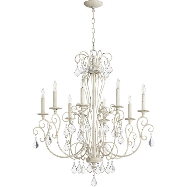 Richland 8-Light Candle Style Empire Chandelier by Ophelia & Co. Ophelia & Co.