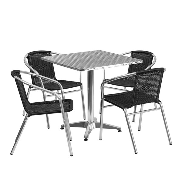 Monatuk 5 Piece Dining Set by Ebern Designs