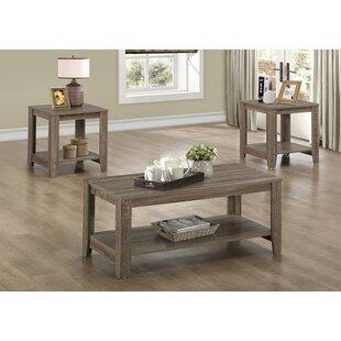 Jalen 3 Piece Coffee Table Set  sc 1 st  Wayfair & Coffee Table Sets You\u0027ll Love | Wayfair
