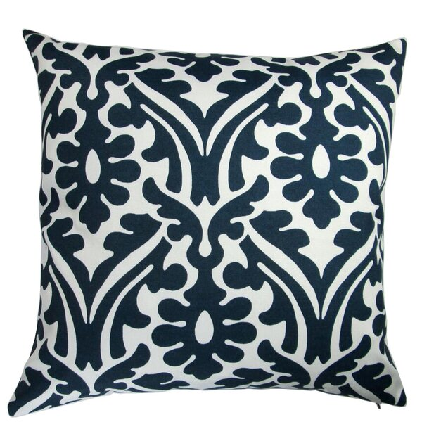 Galiano Modern Damask Indoor/Outdoor Throw Pillow (Set of 2) by Bungalow Rose