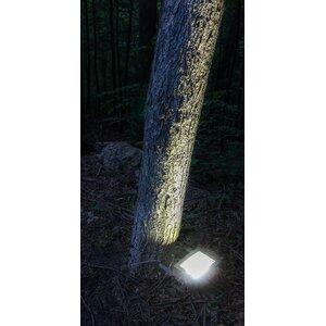 Solar Dusk Until Dawn 12-Light LED Flood Light