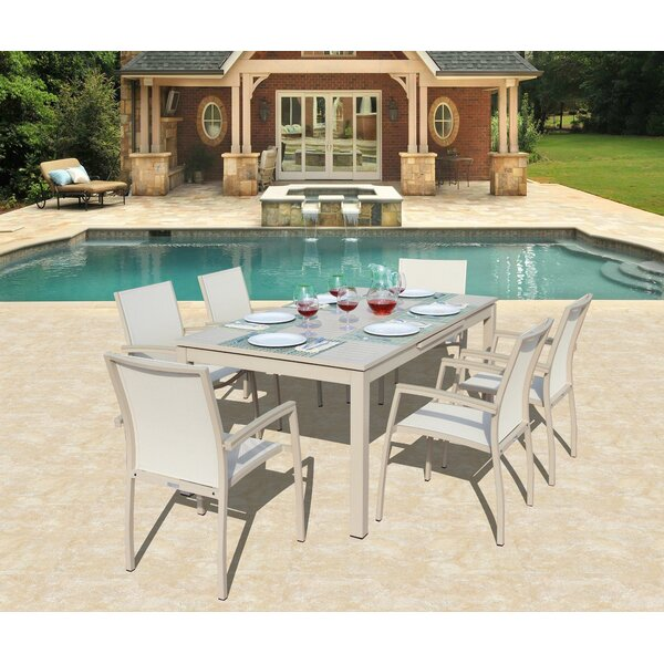 Daucourt 7 Piece Dining Set by Brayden Studio