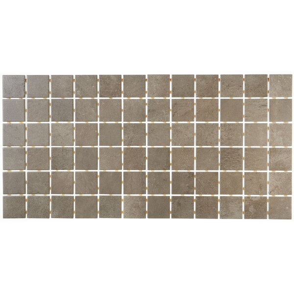 Fairfield 12 x 24 Ceramic Mosaic Tile in Noce by Itona Tile