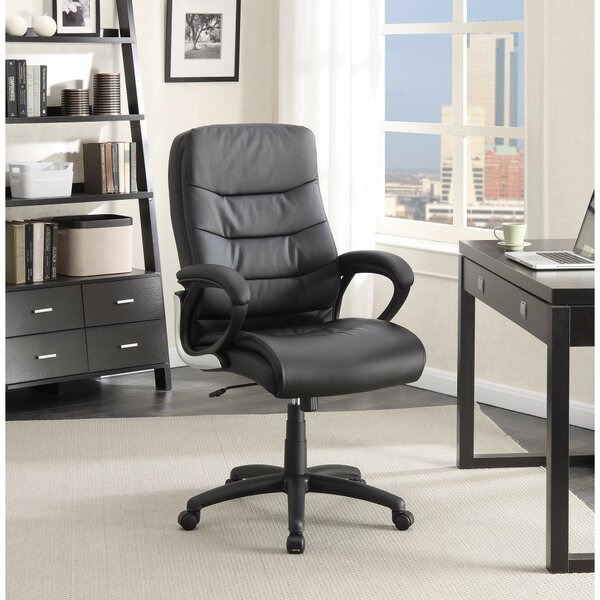 Lapan Modern High-Back Executive Chair by Symple Stuff