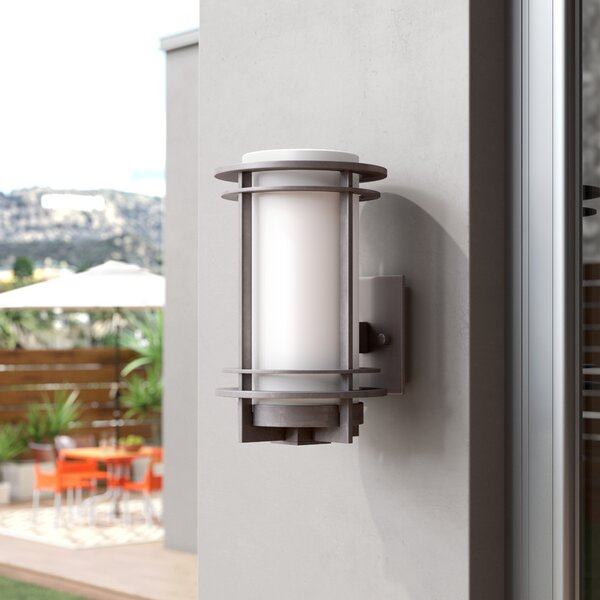 Nicholas 1-Light Outdoor Sconce by Brayden Studio