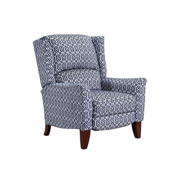 Gillian High Leg Manual Recliner by Lane Furniture