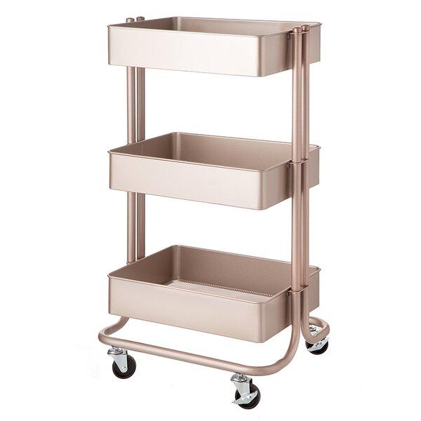 3-Tier Metal Rolling Cart by Darice