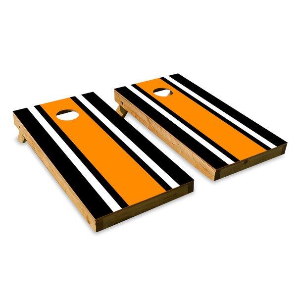Classic Stripe Cornhole Board (Set of 2) by The Cornhole Crew