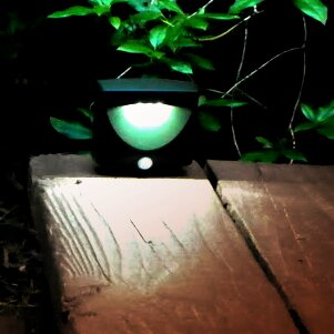 Battery-Powered Motion-Activated Indoor/Outdoor Night Light by Maxsa Innovations