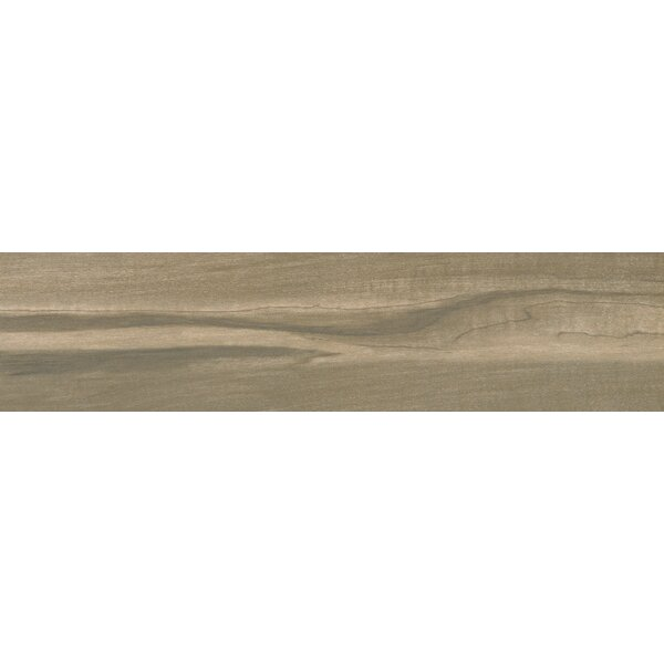 Carolina Timber Saddle 6 x 36 Ceramic Wood Look Tile in Beige by MSI