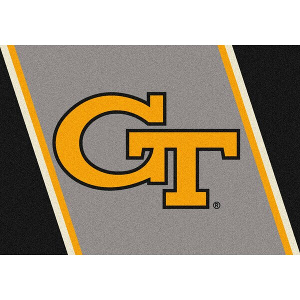 Collegiate Georgia Tech Jackets Doormat by My Team by Milliken