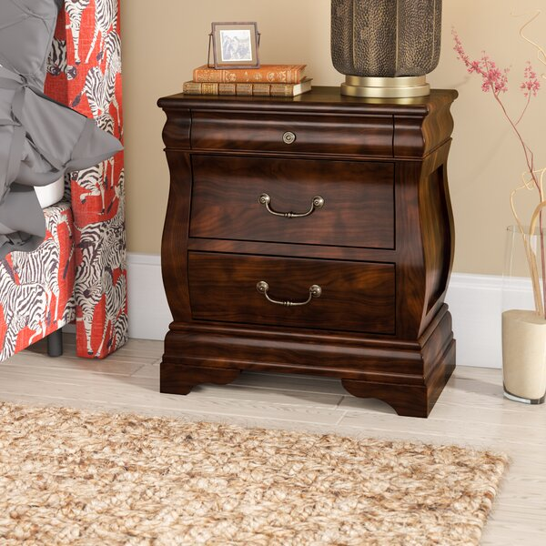 Liverpool 2 Drawer Nightstand by World Menagerie