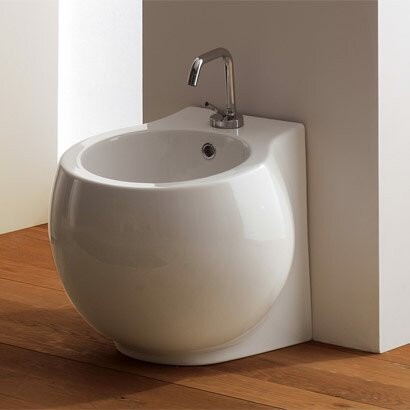 Planet 16.1 Floor Mount Bidet by Scarabeo by Nameeks