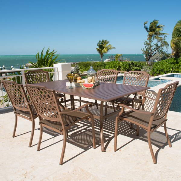 Island Breeze 7 Piece Dining Set by Panama Jack Outdoor
