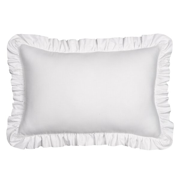 Jauss Ruffle Cotton Throw Pillow by Ophelia & Co.