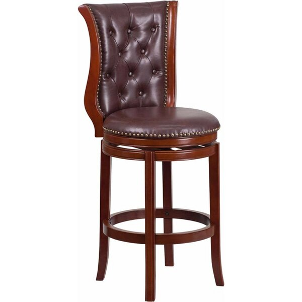 Millerstown 30.5 Swivel Bar Stool by Darby Home Co