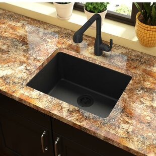black undermount kitchen sinks you ll love wayfair