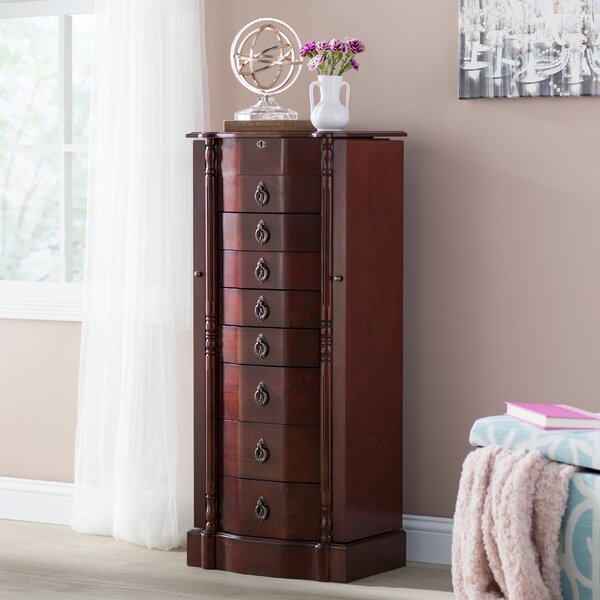 Kennell Jewelry Armoire by Astoria Grand